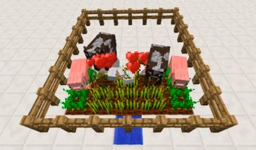 Crop-Eating Animals Mod para Minecraft 1.12, 1.12.1 y 1.12.2