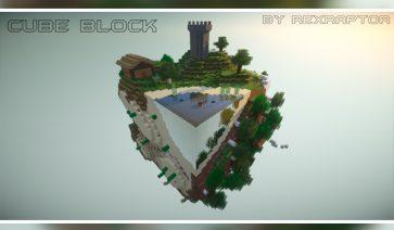Cube Block Map para Minecraft 1.12 y 1.11