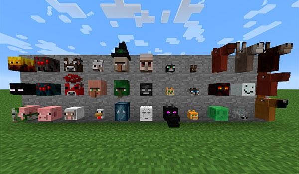 Headcrumbs Mod para Minecraft 1.12.2