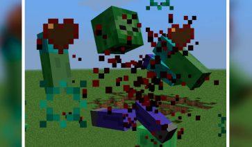 Mob Dismemberment Mod para Minecraft 1.12, 1.12.1 y 1.12.2