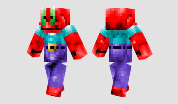 Mr Krabs Skin para Minecraft