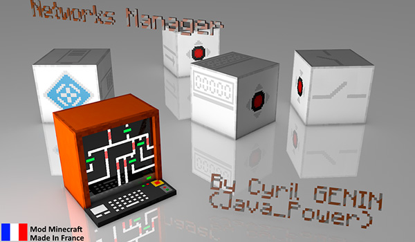 Networks Manager Mod para Minecraft 1.12, 1.12.1 y 1.12.2