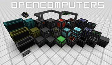OpenComputers Mod para Minecraft 1.12, 1.12.1 y 1.12.2