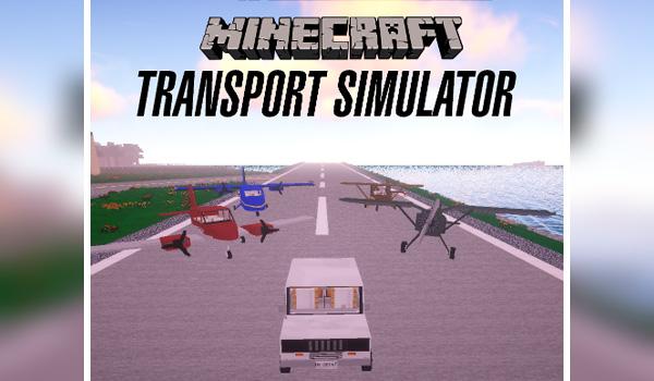 Transport Simulator Mod para Minecraft 1.12.2