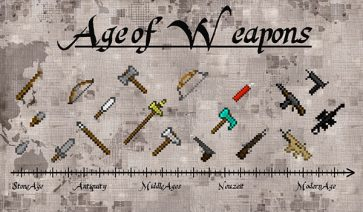 Age of Weapons Mod para Minecraft 1.12.2