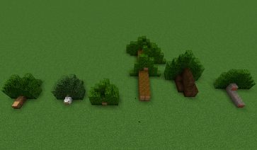 Chop Down Updated Mod para Minecraft 1.12.2
