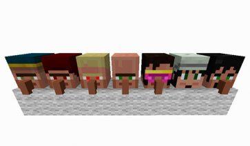 Cubic Villager 1.12.2