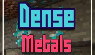 Dense Metals Mod para Minecraft 1.12, 1.12.1 y 1.12.2