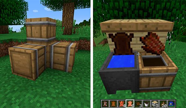 Leather Works Mod para Minecraft 1.12, 1.12.1 y 1.12.2