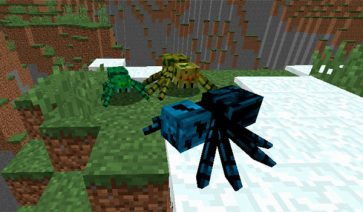 Much More Spiders Mod para Minecraft 1.12, 1.12.1 y 1.12.2