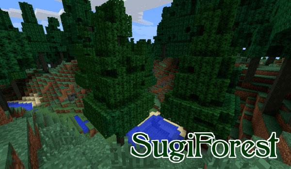 Sugi Forest Mod para Minecraft 1.12, 1.12.1 y 1.12.2