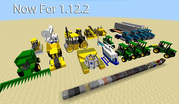 TechStack's Heavy Machinery Mod para Minecraft 1.12.2