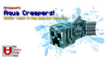 Aqua Creepers Mod para Minecraft 1.12.2