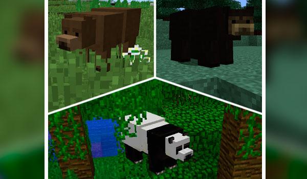 Bear With Me Mod para Minecraft 1.12, 1.12.1 y 1.12.2