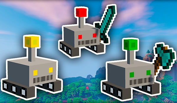Drone Mod para Minecraft 1.12.2
