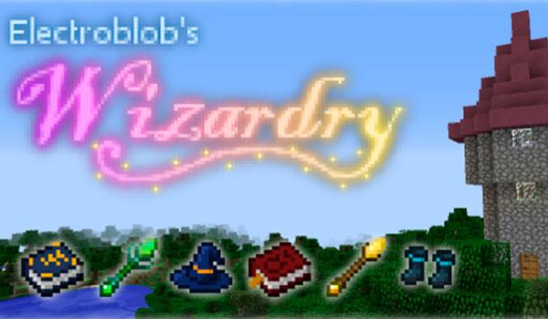 Electroblob's Wizardry Mod para Minecraft 1.12.2