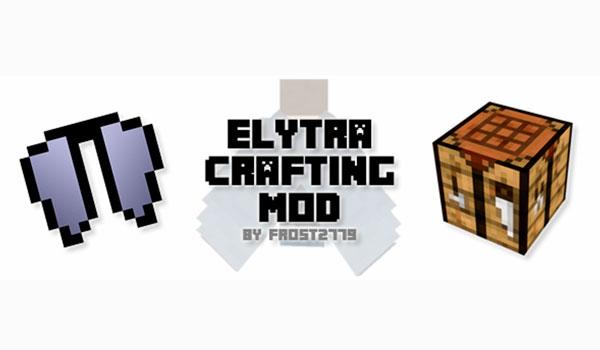 Elytra Crafting Mod para Minecraft 1.12.2