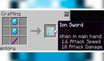 Ion Items Mod para Minecraft 1.12, 1.12.1 y 1.12.2