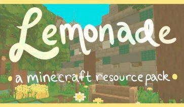 Lemonade Texture Pack para Minecraft 1.12