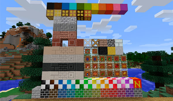 Nifty Blocks Mod para Minecraft 1.12.2