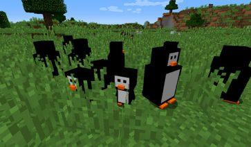 Penguins Mod para Minecraft 1.12.2