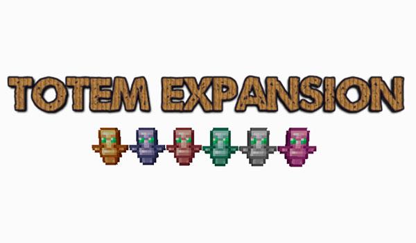 Totem Expansion Mod para Minecraft 1.12.2