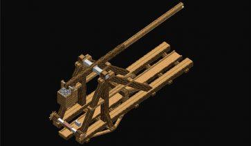 Trebuchet Mod para Minecraft 1.12.2