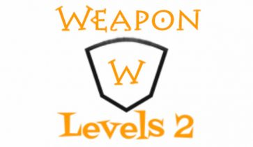 Weapon Levels 1.12.2