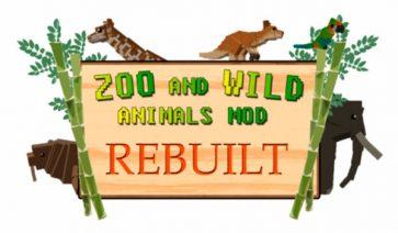 Zoo & Wild Animals Mod para Minecraft 1.12, 1.12.1 y 1.12.2