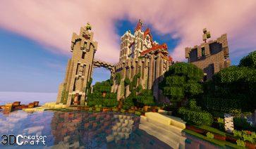 CreatorCraft 3D Texture Pack para Minecraft 1.12 y 1.11