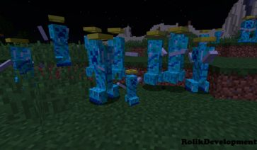 Extra Creeper Types 1.12