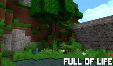Full of Life Texture Pack para Minecraft 1.12