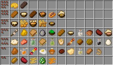 Vanilla Food Pantry Mod para Minecraft 1.12, 1.12.1 y 1.12.2