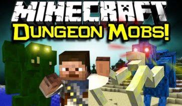 Dungeon Mobs Reborn Mod para Minecraft 1.12.2