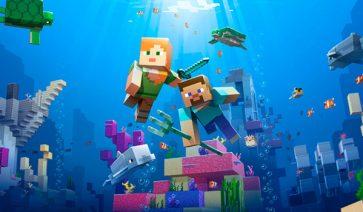 Minecraft 1.13 – Actualización acuática