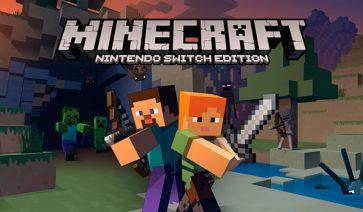 Minecraft es el juego más descargado del año, para Nintendo Switch, en Japón