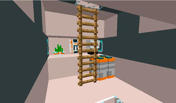 Imagen donde podemos hacernos una idea de la base que podremos crear con el mod Subnauticraft 1.12.2.