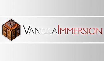 Vanilla Immersion 1.12