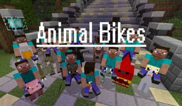 Animal Bikes Mod para Minecraft 1.12.2