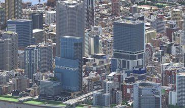 Sayama, una ciudad Minecraftiana inspirada en Tokio y Osaka