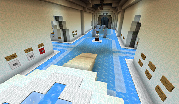 Imagen donde vemos el lobby del mapa Boat Rage 1.13, donde empieza la competición en barca o bote.