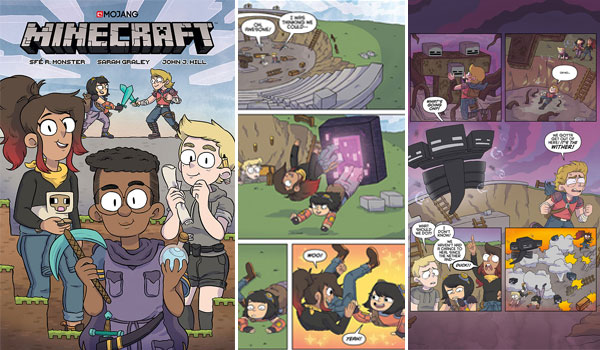 Cómic Minecraft Volume One