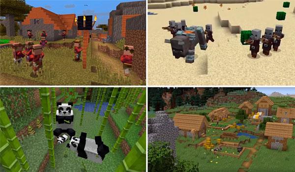Spoiler Asi Sera La Futura Actualizacion Minecraft 1 14 Village
