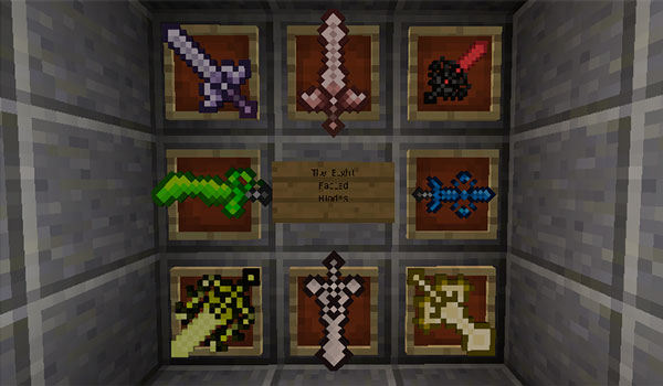 The Eight Fabled Blades 1.12.2