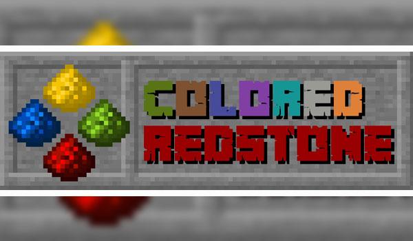 Colored Redstone 1.12.2