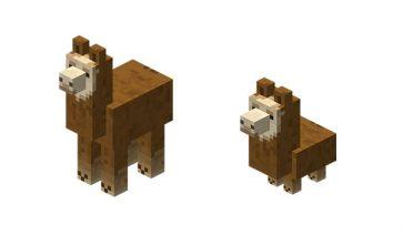 Llama Minecraft