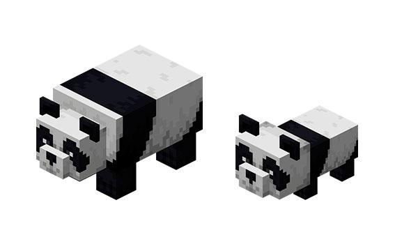 Panda Minecraft