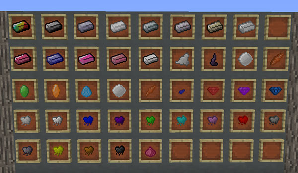 Extended Items and Ores 1.12.2