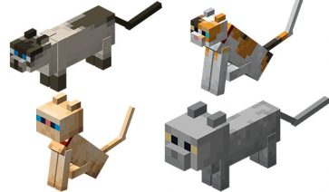 Gatos Minecraft