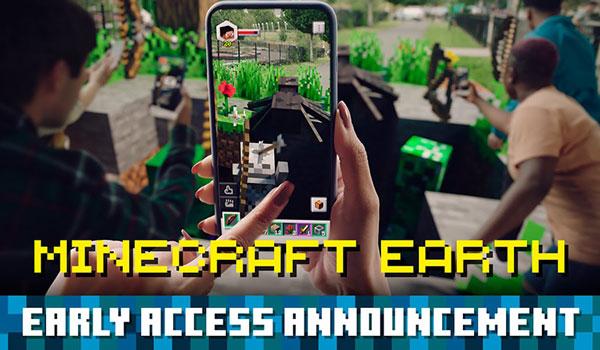Minecraft Earth octubre 2019